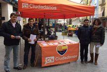 Artículos de prensa. / Fotos de los artículos en los que Ciudadadanos Aragón ha aparecido en prensa en los últimos meses.