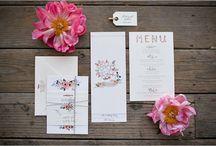 Wedding Invitations / Inspo