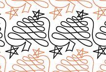 Free motion patterns / by Nancy Horovitz