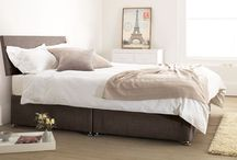 Divine Divan beds / Both of Warren Evans divan beds are perfect for those looking for a range that offers a variety of style options and drawer configurations. Choose from multiple headboard heights and materials to customise our Somerset or Devon divan frames to suit you.