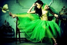 Green stuff... / Inspiration / moodboards / fashion / haircuts / styling / makeup / more..