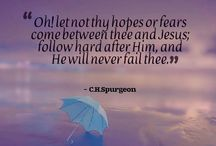 Quotes by C.H.Spurgeon