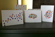 diy cards (birthday etc)