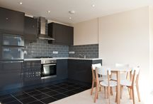 Grey, Black & White Kitchen Ideas / Take inspiration from our projects for using grey, black & white colours in your kitchen. Contact us for further information sales@batterseabuilders.co.uk