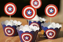 captain america raife b day / by Grace Rogers