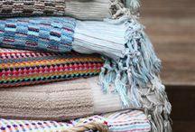 Aegean Loom Towels / Luxury Certified Organic cotton towels. Hand Loomed using century old techniques. The best towels money can buy