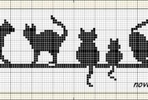 cross stitch/knitting charts