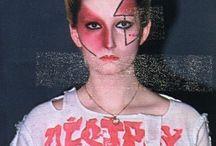 punk make-up