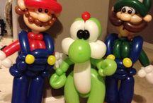 palloncini personaggi super Mario