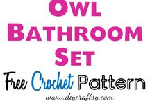 crochet sets for the home