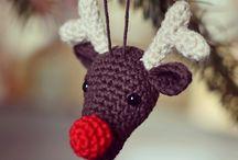 Christmas Crochet / A selection of items to crochet for the Festive Season