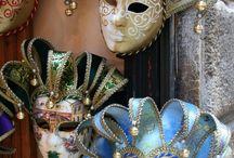 máscaras de carnaval de Veneza