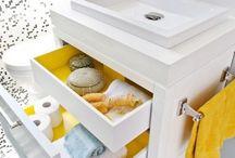 Small Bathroom ideas / by Roane Underwood