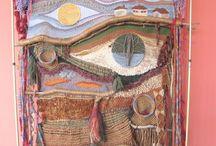 Fiber art / Knitting, weaving, crochet, embroidery... taken to another level. / by Mörky Östblom