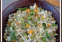 Quick Rice dishes