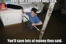 Plumbing Fails - Why you should hire a plumber / Funny plumbing contraptions and fails!
