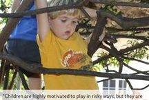 Risky Play Experiences: Risk are a normal and natural part of development.