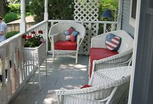 Porches / by Kelly Dubyne {Distinctive Interior Designs}