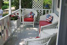 Porch/Front & Back Yard Room/Landscape Ideas / Home Decoration Design & Gardening Landscape