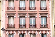 HOUSES FACADES COLOR INSPIRATION / Вдохновение цветом. Архитектура и фасады домов. Шоурум WALLERY.RU предлагает стойкие фасадные краски лучших мировых производителей в наличии в Москве.
