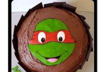 Boys cakes and cupcakes / All hand made by Suga Suga Cupcakes