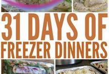freezer dinners