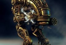Steampunk Fun / Don't let the world grind your gears.  Instead power them with steam and destroy all opposition.