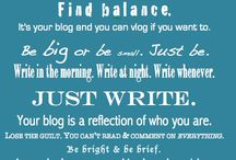 "(Basically Just Blogging) / Tips and Suggestions on how to ""Rock"" your Blog!  Please only pin your best blogging related pins. No ""spam"" pins. No advertisements. No more than 3 pins per day per pinner. Anyone not following guidelines will be removed from this group board. Interested in joining this board? Send an email to noteworthynetchicks@gmail.com. Please include a link to your pinterest account. Thanks. ~Angela"