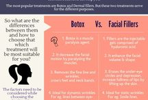 Dermal fillers and Botox