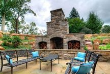 Outdoor Fireplaces and Fire Pits Designs