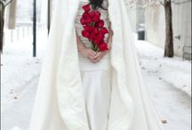 winter wedding capes