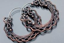 Wire Wrap / украшения из проволоки