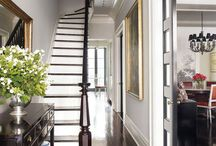Period home hallway ideas / Our new Mid Victorian home has a very dark and uninviting hallway with no natural light - so things are going to change!