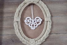 Tatted  Lace Hearts