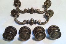 Vintage Hardware pulls / Vintage hardware for restoration projects