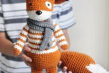 crochet foxies ^_^