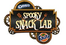 Spooky Snack Lab / Welcome to the Fanta* and Oreo Spooky Snack Lab. Fanta and Nabisco pair perfectly to make ghoulishly flavorful Halloween treats. We've summoned a host of hauntingly tasty concoctions for all your Halloween season entertaining. From Spooky OREO Spiders to refreshing Fanta Candy Corn Frozen Treats, we've got you covered. And, be warned, they're all frighteningly easy to make.   *Fanta is a registered trademark of the Coca-Cola Company.   / by Nabisco