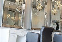 salon de coiffure/beauté... / by L'Esprit Déco