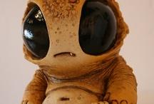 """ALien petshop inspirasjon / Inspirasjon tiloppgave """" Alien pet shop"""""""