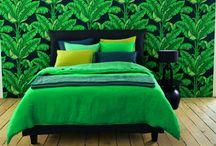 Déco Tropicale - Tropical decor / Zoom sur la tendance de la décoration tropicale et exotique