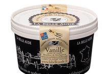Crèmes glacées / Crèmes glacées de la marque La Belle Aude