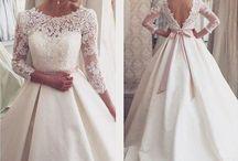 white wedding things