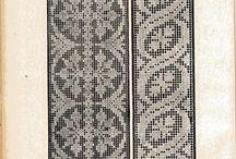 жаккард / схемы, вязание
