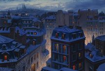 PAINTINGS - Evgeny Lushpin
