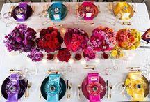 Perfect Bright & colourful wedding ideas