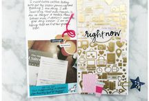 Clique Kits: October 2017 / Clique Kits inspirational & creative board featuring our October 2017 Kit. These pins are meant to inspire you as you scrapbook. Take inspiration from the Mood Board Pins or from the projects shared!