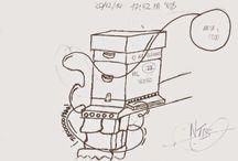 appybee / Tablero, donde colgar bocetos, circuitos, ideas, fotos que ayuden a #desarrollar la #startUp #appybee de su creador @nunotecnologias  link (appybee) -> http://appybee.weebly.com