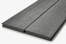 Composite Decking / Composite decking products and deck designs using Hyperion Decking