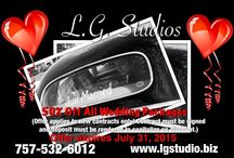 50% OFF Wedding Packages / For the month of July, L.G. Studios is offering wedding packages at 50% off the regular price! Visit www.lgstudio.biz for more information.  / by L.G. Studios