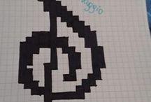 rysunki z kwadracików